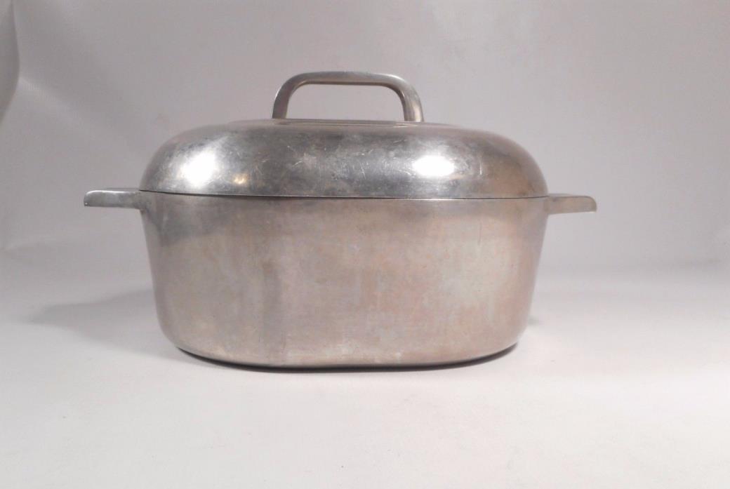 Vintage Modern WAGNER WARE Magnalite Roasterette Dutch Oven Pan #4263 USA
