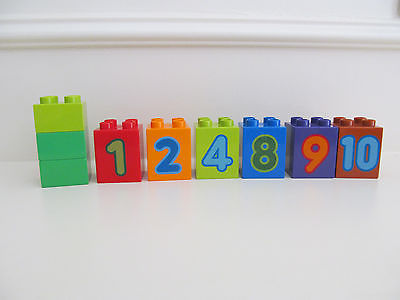 Lego DUPLO Number Train 10558 Replacement pieces