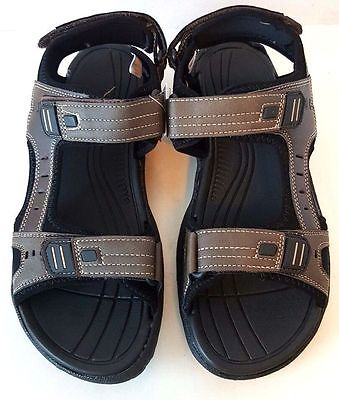 Mossimo Mens Brown Hiking Sport Sandals -sizes 10
