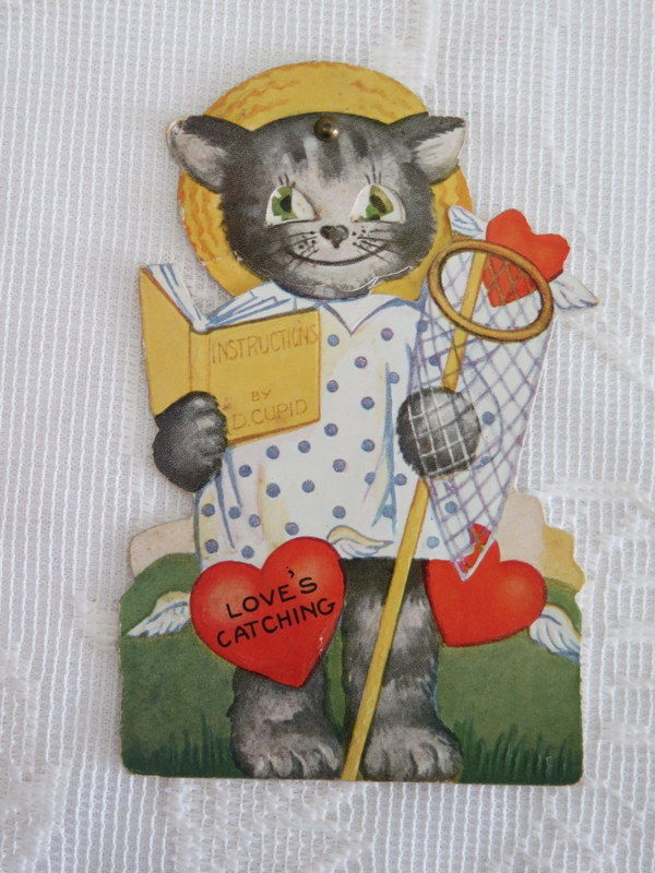 Mechanical Vintage Valentine, Love's Catching