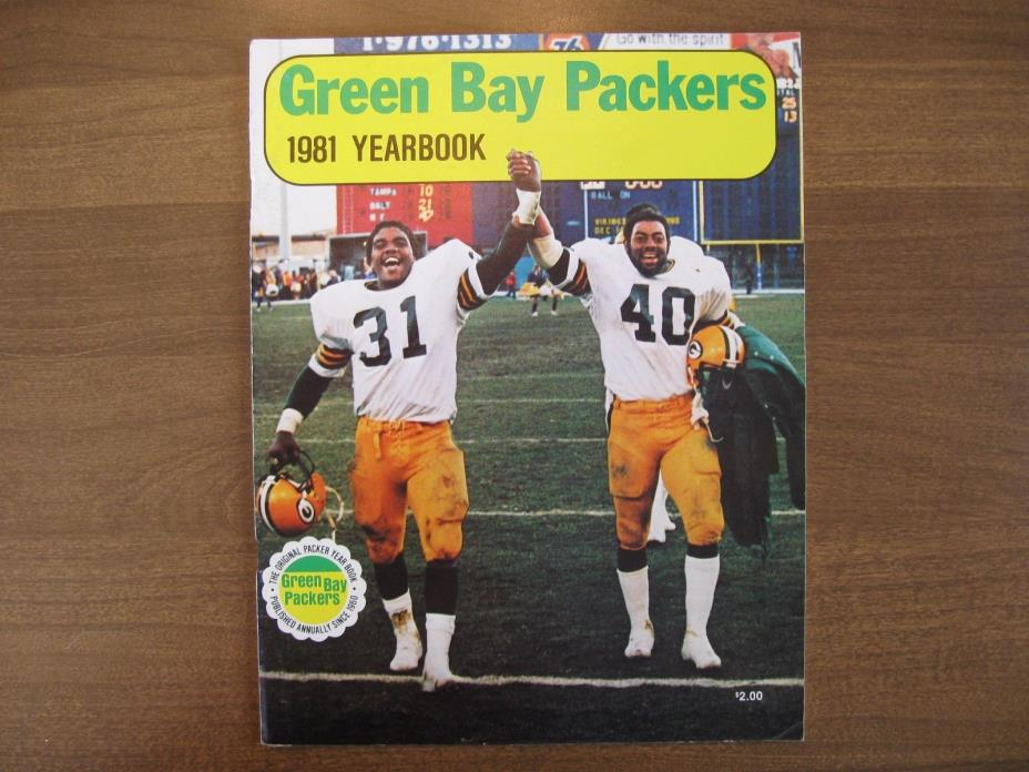 Green Bay Packers 1981 Yearbook