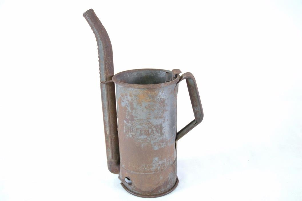 Vintage Huffman Oil Can
