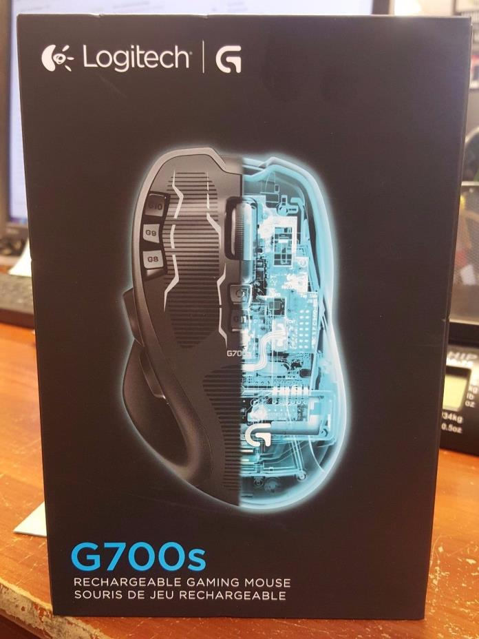 Logitech G700s 910-003584 Rechargeable Gaming Mouse USB Wireless / Wired NEW