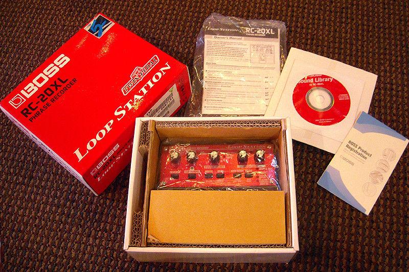 Boss RC-20XL Loop Station Guitar Phrase Recorder Looper Pedal