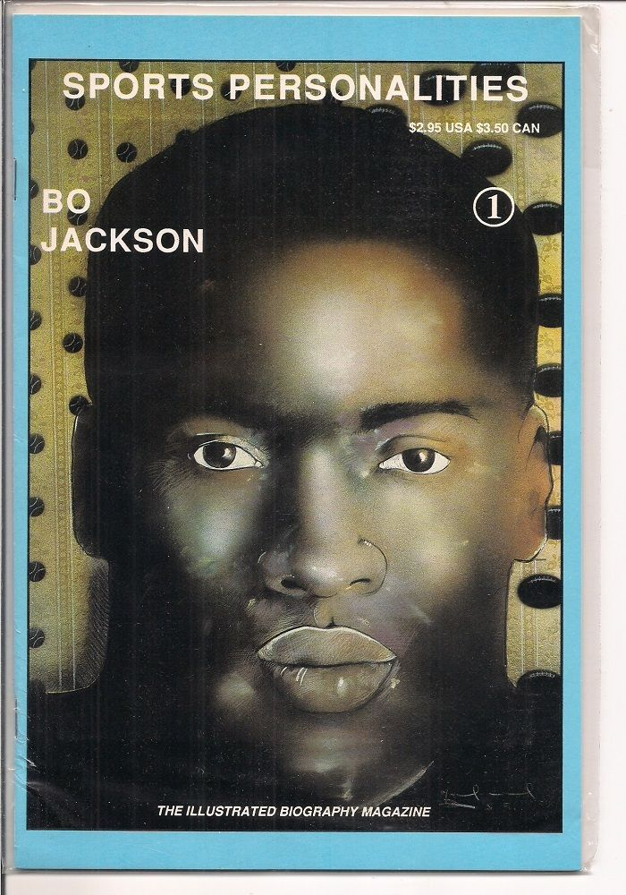 Bo Jackson #1 by Sports Personalities