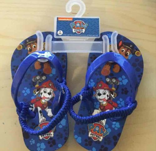 NWT Paw Patrol Toddler Sandals Size S 5/6