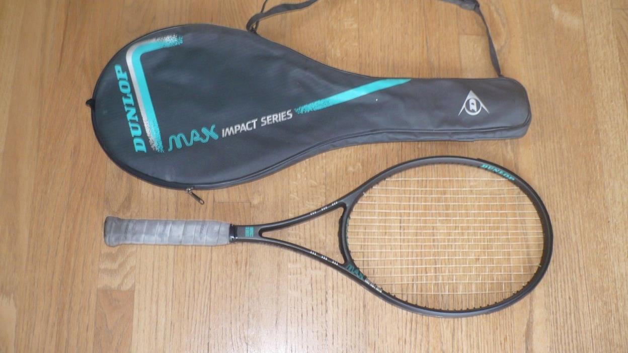 Dunlop Max Impact Sorbothane Kevlar Mid Size Tennis Racket - 27