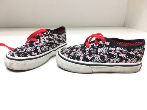 Hello Kitty Vans Shoes, Toddler Size 7