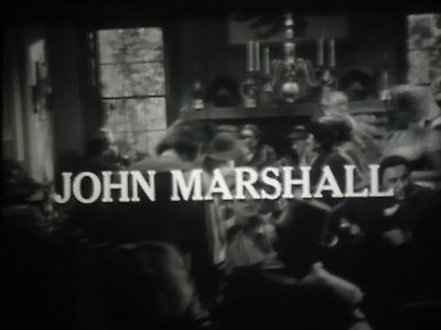 16 mm   Profiles in Courage John Marshall Gary Merrill Dabbs Greer 1965