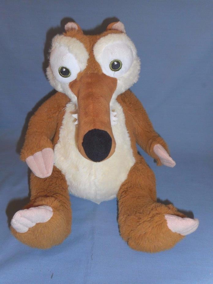 Build A Bear Plush Ice Age Scrat the Squirrel  abt 13