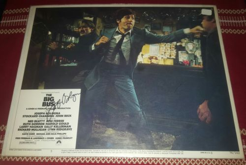 JOSEPH JOE BOLOGNA AUTOGRAPH SIGNED THEATER LOBBY CARD POSTER of