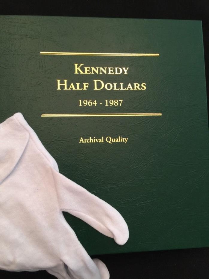 Just Proof & Mint Set Kennedy Half Dollar Set 1964-87 In New Littleton Album
