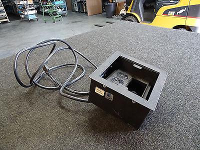 Spider Shadow 2 Recessed Gang Box Modular Tabletop Interconnect Box