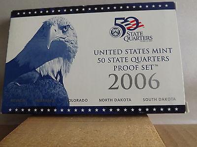 2006 50 States Quarters Proof Set