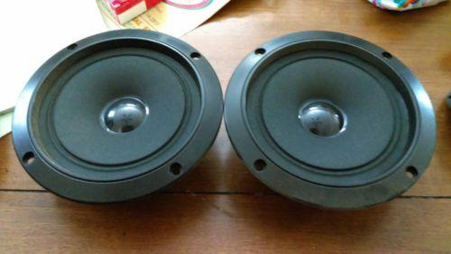 Vintage pioneer mid range mid-range speakers pair 5