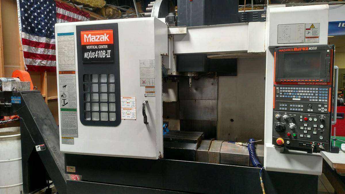 2008 Mazak Nexus 410B W/ Renshaw and 4th axis