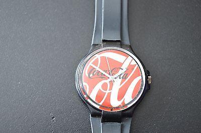 Men's Coca Cola Coke  Swiss Watch