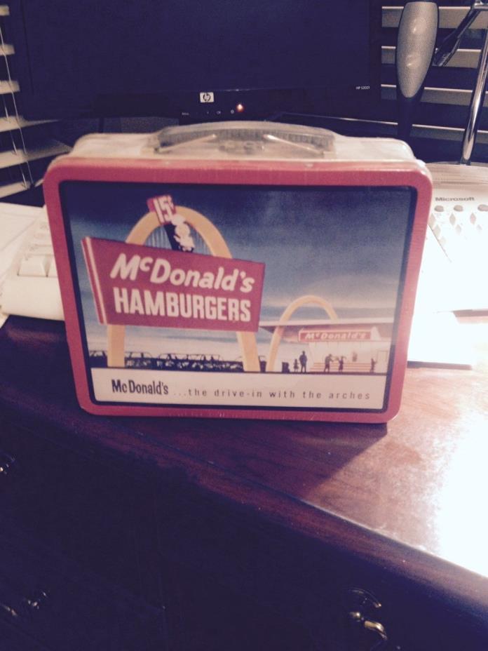 Mcdonalds lunch box in plastic