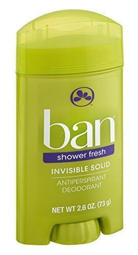 Ban Anti-Perspirant Deodorant Invisible Solid Shower Fresh 2.60oz Each