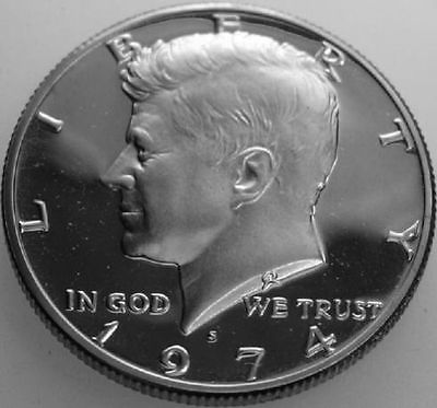 1974-s PROOF KENNEDY HALF DOLLAR Roll 20 Coins