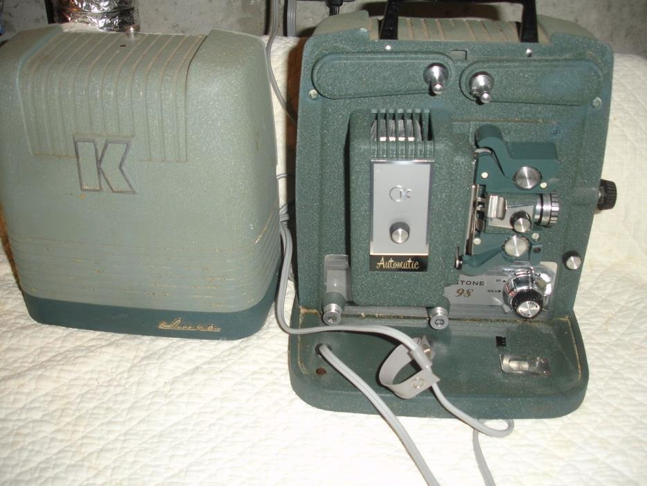 Vintage Movie projector 8mm Working condition keystone 98