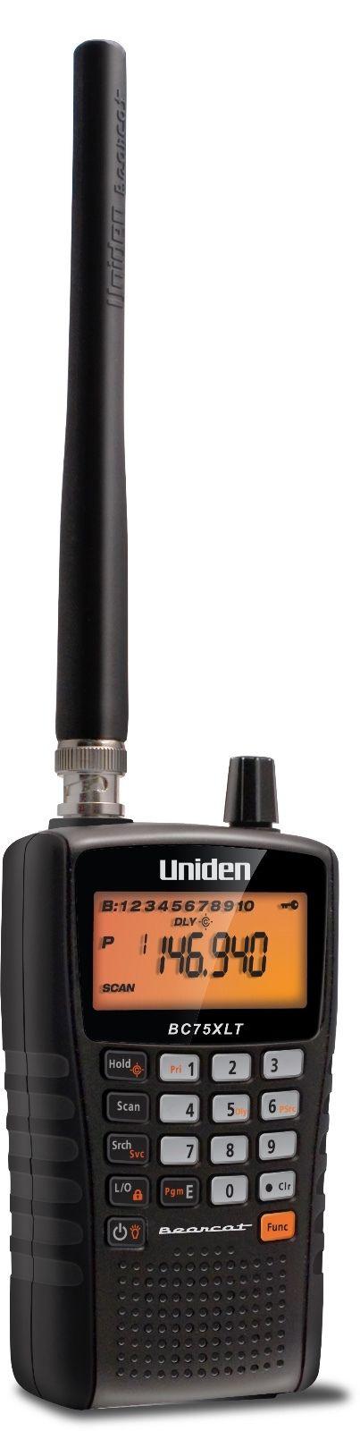 Uniden Bearcat BC75XLT VHF UHF Radio Scanner