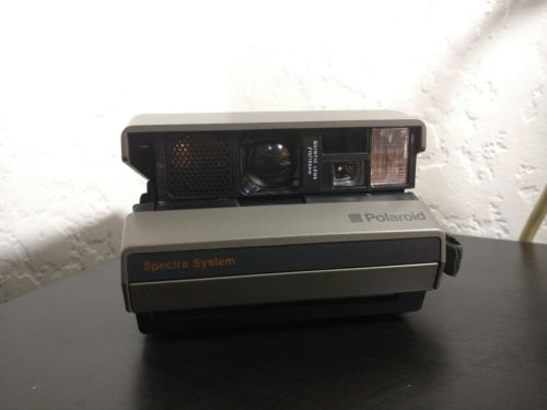 Polaroid Spectra System Instant Film Camera-TESTED AND WORKS