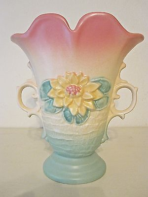 Hull Art Pottery Water Lily Vase 9