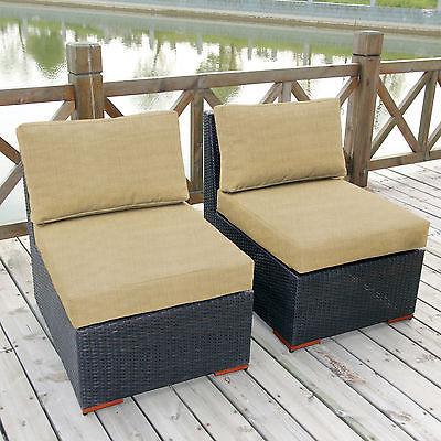 Bay Isle Home Scholtz Armless Slipper Chair with Cushions