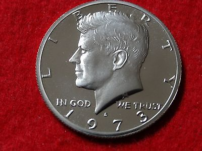 1973-s PROOF KENNEDY HALF DOLLAR Roll 20 Coins