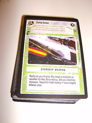 Star Wars ccg SWCCG lot of Death Star 2 II rebel light side cards B