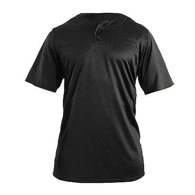 Adams Youth Baseball Jersey (Size: X-Large, Black) …