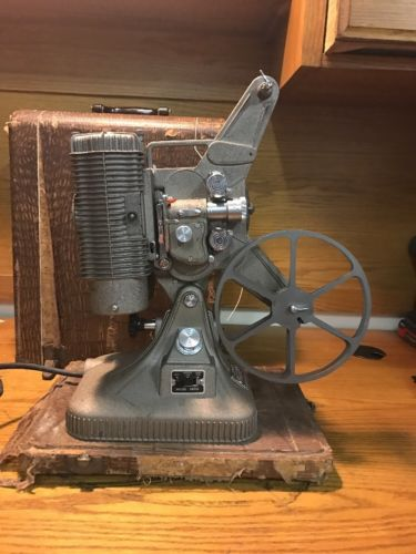 Vintage Keystone K-108 8MM Movie Video Film Reel Home Cinema Projector with Case