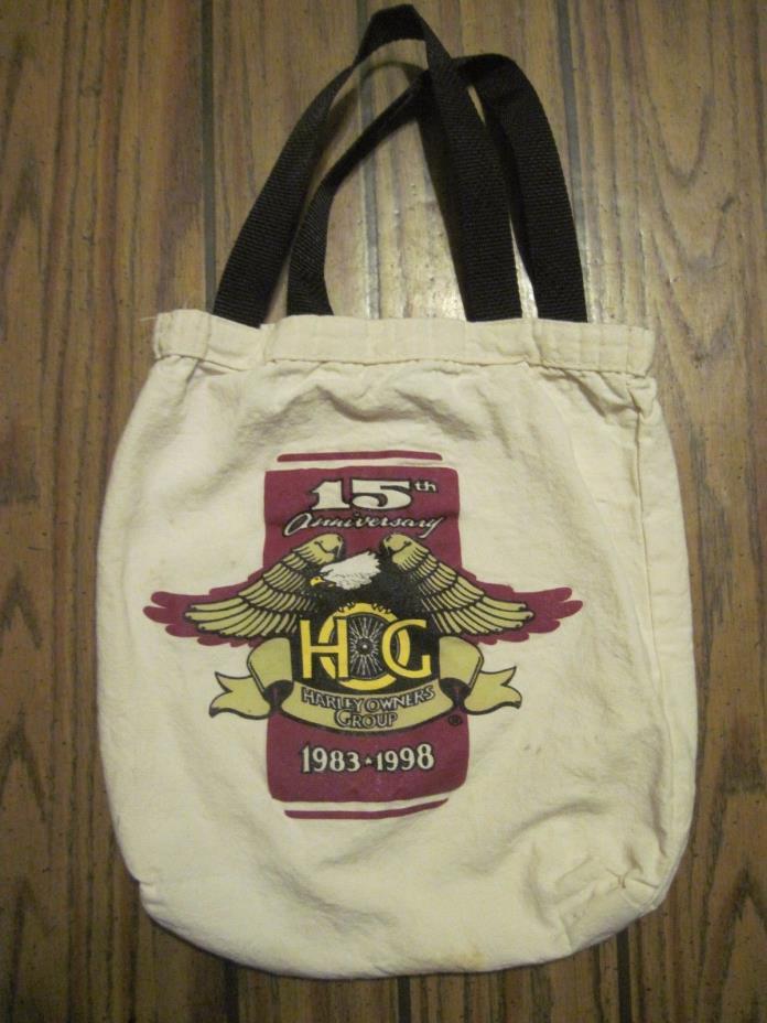 15th Anniversary HOG Harley Owners Group Tota Bag