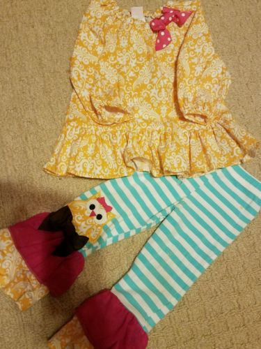 girls toddler clothes size 2T Ricrac&Ruffles