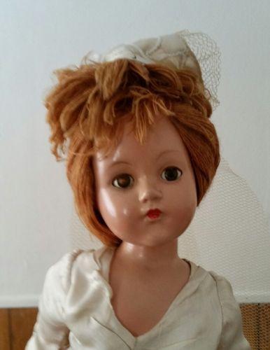 Effanbee bride Composition Doll