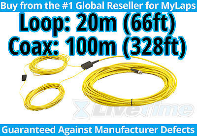 MyLaps 20m Loop w/ 100m Connection Box (AMB, rc cars, r/c cars) - NEW