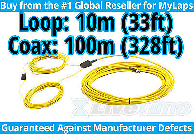 MyLaps 10m Loop w/ 100m Connection Box (AMB, rc cars, r/c cars) - NEW