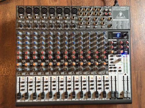 Behringer XENYX 2222FX 22-input Mixer / 24 Bit Multi-FX Processor - Free Ship!