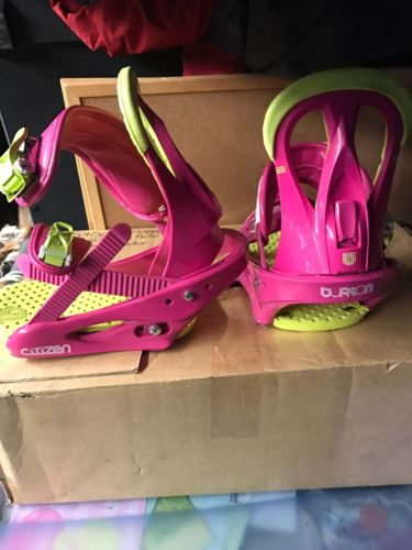 Burton Pink Snowboard Bindings Women's Citizen 2013