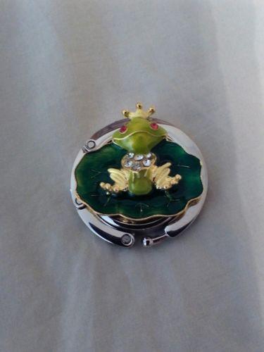Purse Hanger Frog Prince