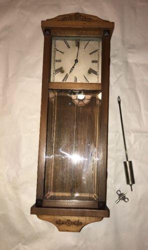 antique gilbert wall clock