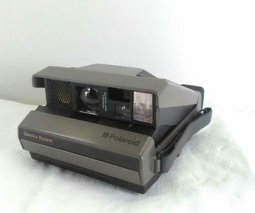 Polaroid Spectra System Instant Film Camera Tested Working
