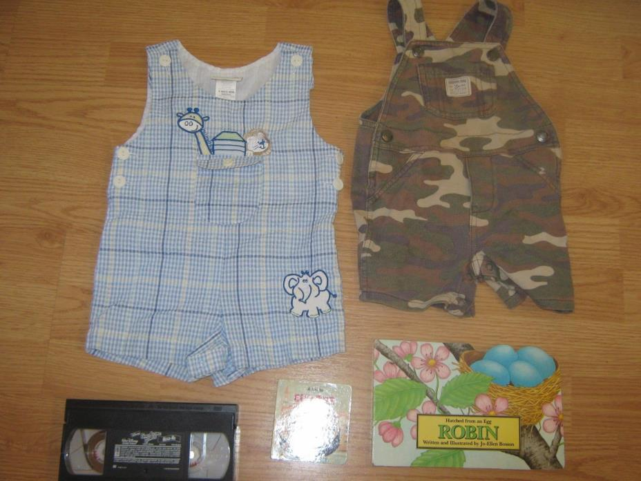 boys size 12 months outfits with bonus book and more! Dressy and camo outfits