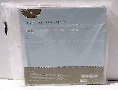 Creative Memories Family Max Kit 8X8 24 Pre Decorated PagesCreative Memories Fam