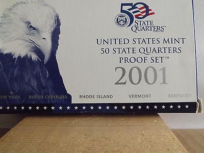2001 50 States Quarters Proof Set