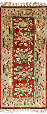 Hand-knotted Carpet 2'9
