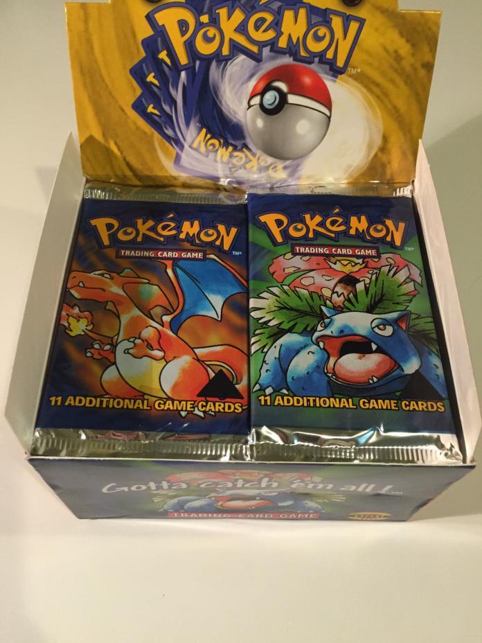 Pokemon Triangle Error Base Set Booster Box