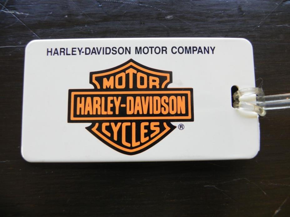 NEW HARLEY-DAVIDSON MOTOR COMPANY LUGGAGE TAG