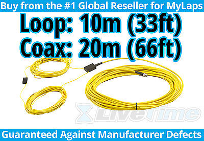 MyLaps 10m Loop w/ 20m Connection Box (AMB, rc cars, r/c cars) - NEW